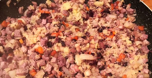 involtini di verza carne e verdure