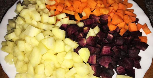 preparazione-involtini di verza con carne