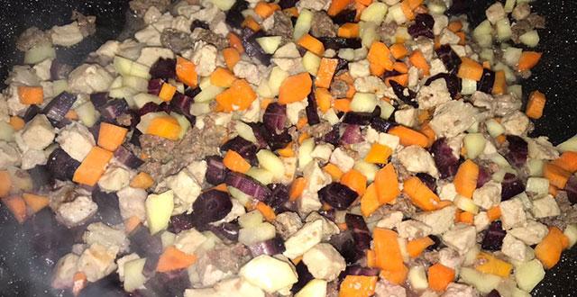 preparazione involtini verza carne e verdure
