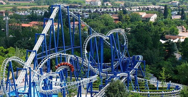 Blue Tornado a Gardaland